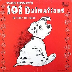 101 Dalmatians In Story And Song LP Album DQ1308